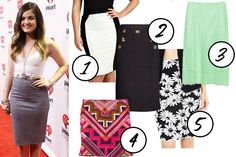 Lucy Hale Pencil Skirt - How To Wear Pencil Skirts - Seventeen