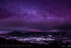 Cold Night  ~      Copy Credit : Jonathan Besler Photo  ~      Canon EOS 550D, Tokina 11-16mm  F/2,8  ~    Horn/Sonthofen, Germany