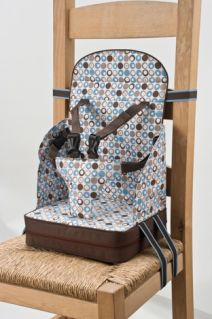Go Anywhere Booster Seat {make any chair a high chair}