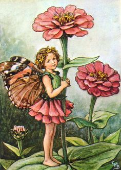Butterfly Wing Fairy Vintage Artwork