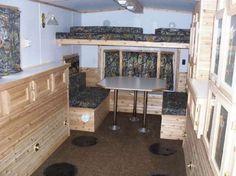 Fish house ice shanty trailer frames kits do rv stuff for Ice fishing house parts