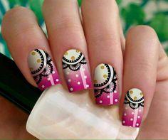 . Pedicure Nail Designs, Pedicure Nails, Nail Art Designs, Gel Nails, Acrylic Nails, Nail Polish, Nail Nail, Nail Shop, Artificial Nails
