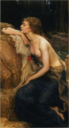 "Herbert James Draper, ""Lamia"" by sofi01, via Flickr"