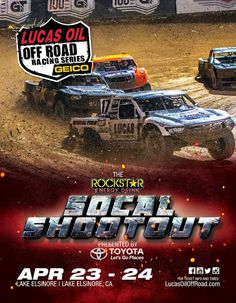 Lucas Oil Off Road Racing Series is coming to Lake Elsinore, California this April 23rd and 24th