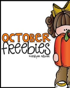 October Math and Literacy Freebies!