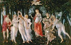 'Primavera' by Sandro Botticelli