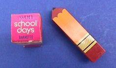 Avon pencil barrette