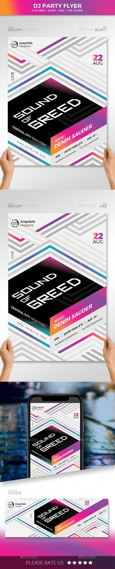 Design Ideas Flyer Club Parties 47 Ideas For 2019 Flyer Design Inspiration, Design Ideas, Poster Photography, Poster Drawing, Typography Layout, Music Party, Club Parties, Party Flyer, Magazine Design
