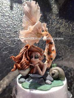 Mermaid cake model by Zoe's Fancy Cakes