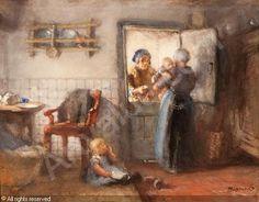 blommers-bernardus-johannes-ba-praatje-bij-de-keukendeur-2937409.jpg 500×391 pixels
