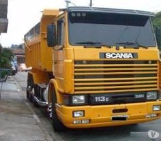 Fotos para Scania 113 320 Ano 1995 6x4 Com Caçamba Basculante