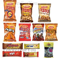 Israeli-snacks-Bamba-filled-nougat-Bissli-Grill-sweet-apropo-kosher-3-1 Corn Snacks, Potato Snacks, Grilling, Snack Recipes, Chips, Sweet, Food, Recipes, Snack Mix Recipes