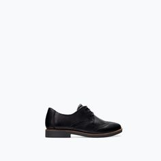 ZARA - SHOES & BAGS - LEATHER BLUCHER