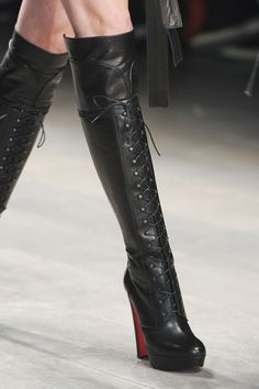 Christian Louboutin for Mark Fast F/W 2011