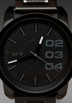 DIESEL 1371 Watch in Black - Watches