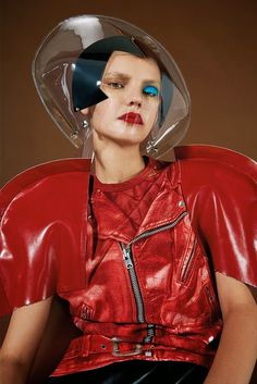 """""""Pressure Space"""" Junya Watanabe fashion by Nicolas Coulomb for Dazed Digital"""