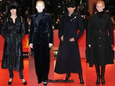 Tilda Swinton Keeps Warm On The Berlin Film Festival Red Carpets » Red Carpet Fashion Awards