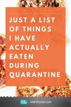 Just a List of Things I Have Actually Eaten During Quarantine. From mac & cheese straight out of the pan to Oreos in my corn flakes, dining during quarantine definitely isn't the norm. Costco Pizza, Crescent Dogs, Oreo Thins, Moist Yellow Cakes, Teaching Humor, Chickpea Stew, Stress Eating, Corn Flakes, I Am Amazing