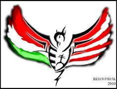 Might make a nice tat someday Hungarian Tattoo, Hungarian Flag, Archery, Hungary, Tatting, Book Art, Sas, Deviantart, Warriors