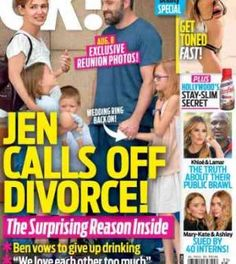 Jennifer Garner Calls Off Divorce From Ben Affleck – Reconciliation in the Works?