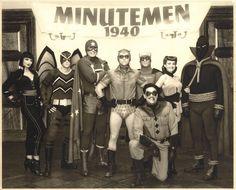 Watchmen (Minutemen, 1940). En el cómic original, los Minutemen se crearon en 1939.