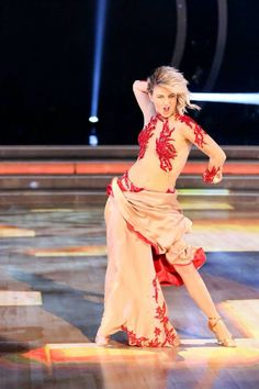 former pro - new judge Julianne Hough  -  Dancing With the Stars  -  Season 19  -  week 2  -  Fall 2014