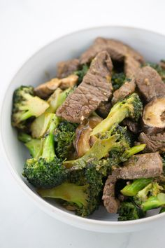 Broccoli Beef Stir-Fry ‹ Hello Healthy