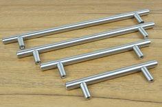 $72.89 (Buy here: https://alitems.com/g/1e8d114494ebda23ff8b16525dc3e8/?i=5&ulp=https%3A%2F%2Fwww.aliexpress.com%2Fitem%2FFurniture-Hardware-Modern-Solid-Stainless-Steel-Kitchen-Cabinet-Handles-Bar-T-Handle-C-C-256mm-L%2F32483024211.html ) Furniture Hardware Modern Solid Stainless Steel Kitchen Cabinet Handles Bar T Handle(C.C.:256mm L:400mm) for just $72.89
