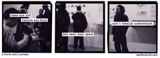 A Softer World: I need your space too.