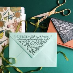 Custom Oversized Floral Return Address Rubber Stamp | Perfect for Wedding & Party Invitation Envelopes or Housewarming Gifts