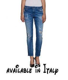B076MJKJLK : Jeans REPLAY donna KATEWIN slim fit WA635.000 33C 987 (W28 L28).