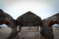 Dhanushkodi.., the ghost town  only the alter still remains ! everything else is washed away !