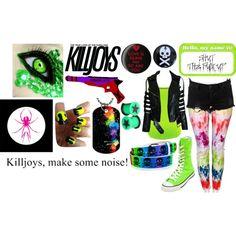 """""""Killjoy"""" by insomniaticsuicide on Polyvore"""
