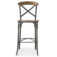 20 farmhouse bar stools to make your house look vintage and awesome! Industrial Counter Stools, Counter Height Bar Stools, Kitchen Counter Stools, Kitchen Chairs, Tall Stools, Bar Counter, Kitchen Countertops, Kitchen Dining, Farmhouse Style Bar Stools