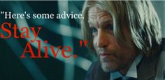 "Haymitch in ""The Hunger Games"" (Woody Harrelson)"