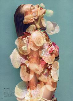 FASHION|ONE BLOG | This Soft Embrace for Vogue Japan November 2011