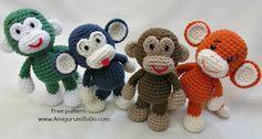 El pequeño mono Bigfoot revisado Patrón de vídeo Tutorial de Amigurumi ~ To Go