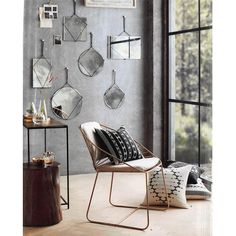 Roost Cordage Frameless Mirrors