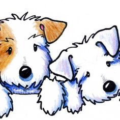Saving Shelter Pets - Inland Empire in San Bernardino, California Caricatures, Sealyham Terrier, Dog Crafts, West Highland Terrier, Dog Art, Cartoon Drawings, Dogs And Puppies, Doggies, Animal Rescue