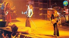 Purple LIVE onstage in Europe ~ 1974