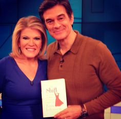 The Shift book on The Dr. Oz Show 10/22/13..mental shift how to lose weight..fed up w being fat, pamper yourself flavor water, put up bad pics to keep motivated, totally say no to bad food-choose to be healthy everyday