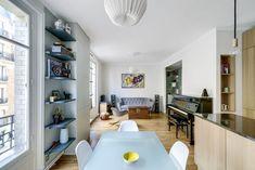 Un 70 m2 parisien rénové par les architectes d'intérieur Margaux Meza et Carla Lopez
