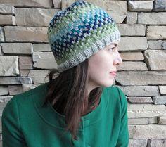 checkerboard hat pattern