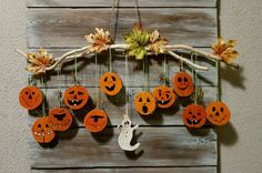 - Fall Crafts For Toddlers Halloween Crafts For Toddlers, Holidays Halloween, Halloween Diy, Happy Halloween, Manualidades Halloween, Adornos Halloween, Homemade Halloween Decorations, Halloween Themes, Mascaras Halloween
