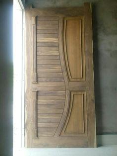 new door desiogn gallery Pooja Room Door Design, Bedroom Door Design, Door Gate Design, Door Design Interior, Wooden Front Door Design, Wooden Front Doors, Wood Doors, Door Design Images, Lcd Panel Design