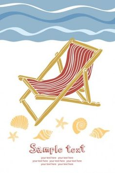 Summer beach holidays vector 5 Vector misc - Free vector for free download