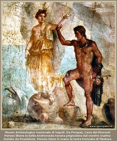 Pompei - Andromeda e Perseo