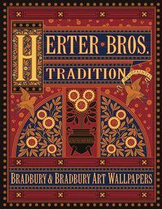 Herter Brothers Tradition Wallpaper Collection Catalog #bradburywallpaper