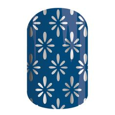 Denim Chic | Jamberry - Metallic hues of blue with a pop of silver is what makes 'Denim Chic' so classy! Inspired by a classic color, but turned into a stylish wrap that will have you looking amazing!