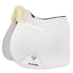 LeMieux Lambskin GP - Jumping Square Front Rolled Edge